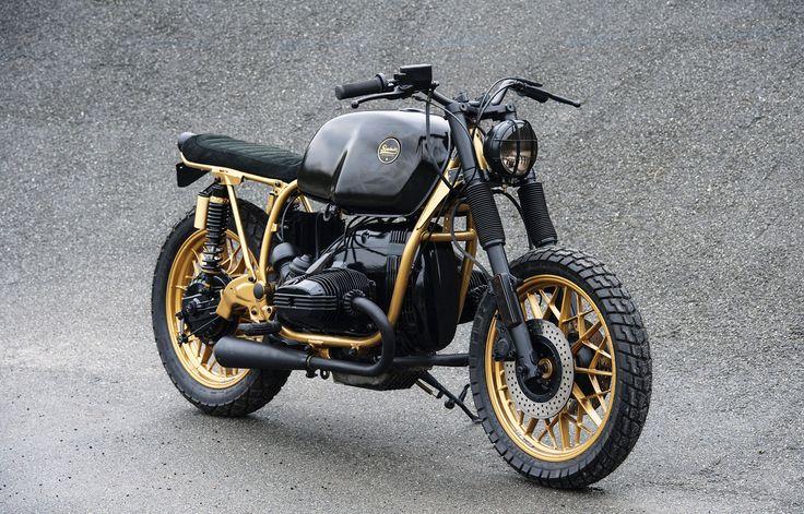 Beautiful black & gold BMW