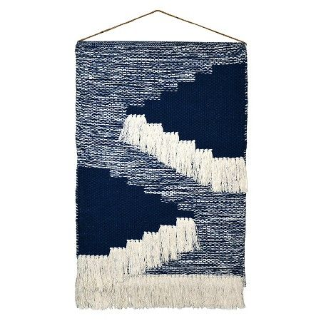 """Woven Wall Hanging - Blue (18""""x31"""") Threshold™ : Target"""
