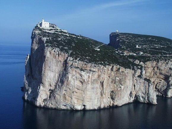 Capo Caccia Lighthouse: We are going to climb this baby with a bicyle #Italy