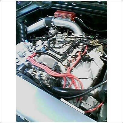 Delorean DMC-12 engine swap. 3.0 PRV V-6 with turbo conversion.