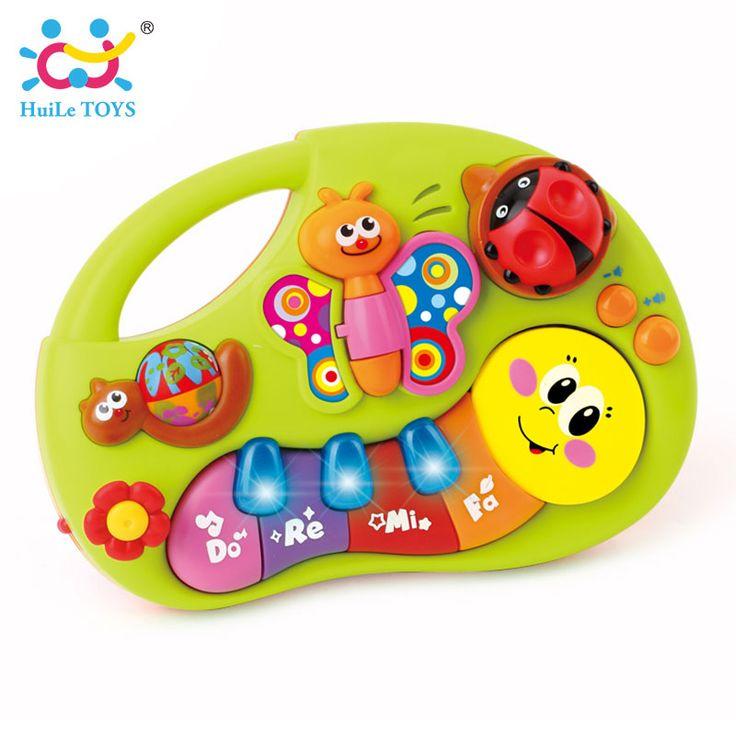 HUILE TOYS 927 Baby Spielzeug Lernmaschine Spielzeug mit Lichter & musik & Lernen Geschichten Spielzeug Musikinstrument für Kleinkind 6 monate +