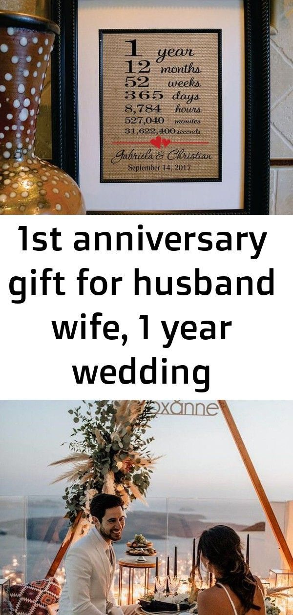 1st Anniversary Gift For Husband Wife 1 Year Wedding Anniversar In 2020 Anniversary Gifts For Husband 1st Anniversary Gifts Traditional Wedding Anniversary Gift Ideas