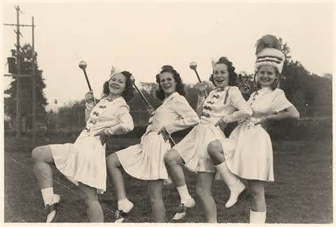 Majorettes in High school