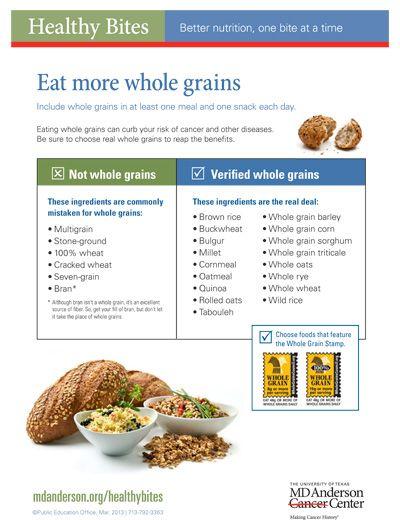 Healthy Grain Foods
