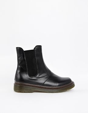 London Rebel Chunky Sole Chelsea Boots