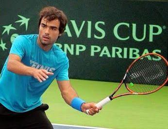 Frederico Silva iniciou ontem a semana de preparação para o encontro da Taça Davis frente a Marrocos! Boa sorte!