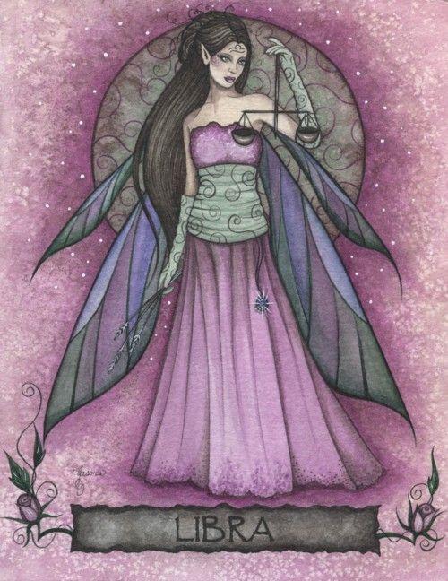 Libra Zodiac Fairy