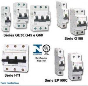 Disjuntores elétricos como identificar qual é qual!