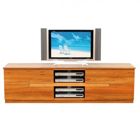 ESK AV CABINET    Packed with storage, the Esk AV features four large drawers and four component sections  Australian made with a Lifetime Guarantee