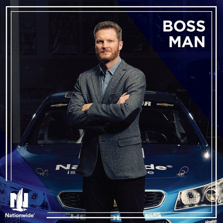 Dale Jr., boss man 2016