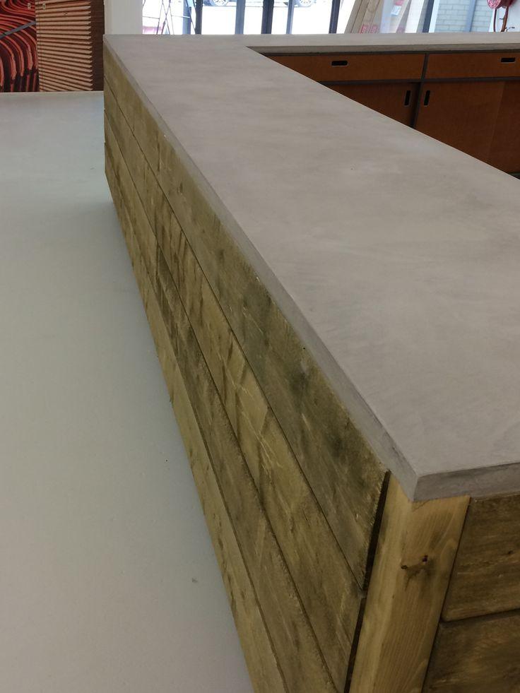 Mortex Beal - beton of tadelakt look waterdicht en kan op allerlei ondergronden