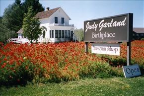 Judy Garland's birthplace, Grand Rapids, MN