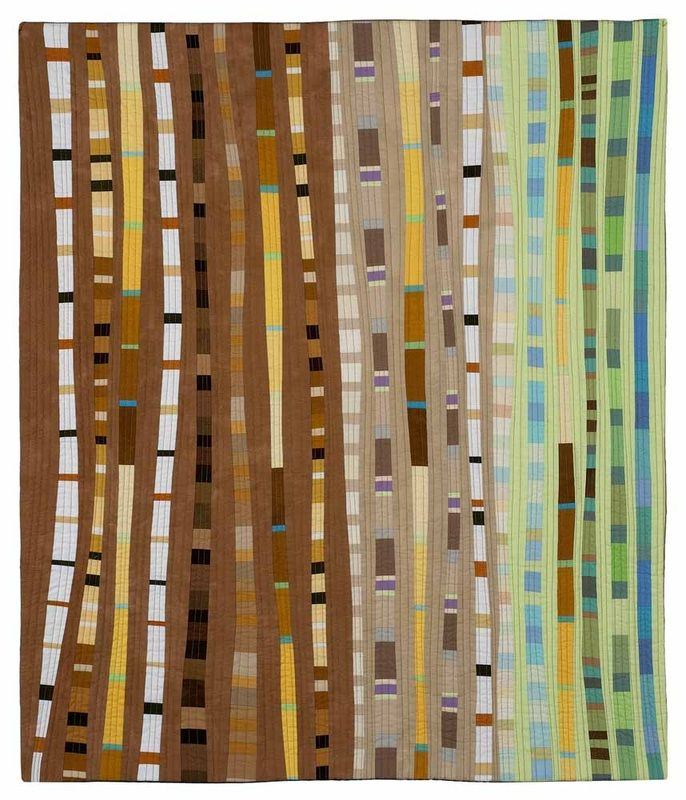 Water's Edge #1 40.5 x 34 inches- Valarie Maser Flanagan