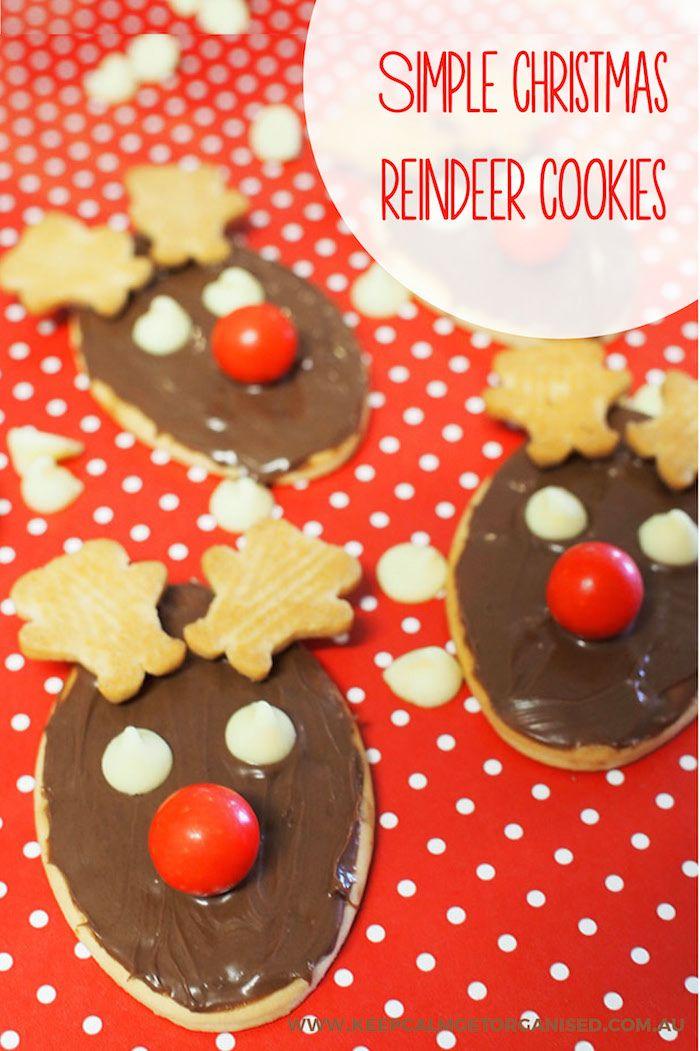 How to make easy reindeer biscuits (with tiny teddies!)   Keep Calm Get Organised