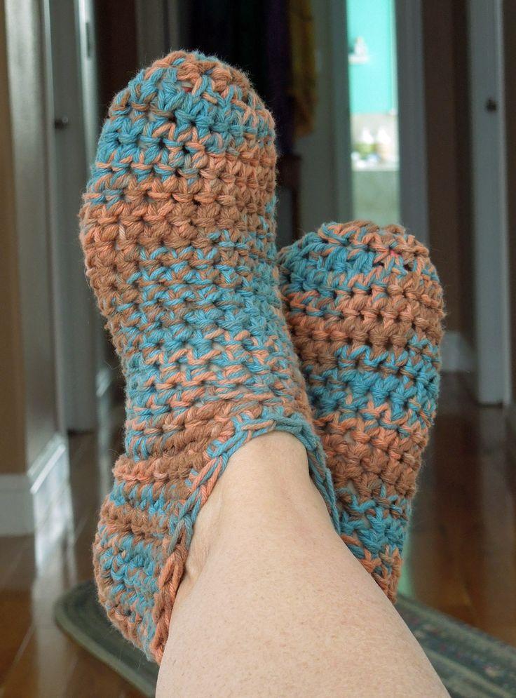 Bootie Slippers Free Crochet Pattern Free Crochet