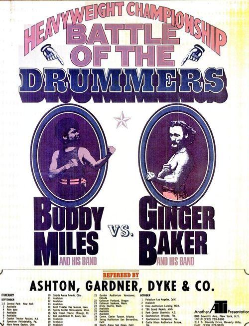 Battle Of The Drummers: Buddy Miles vs. Ginger Baker