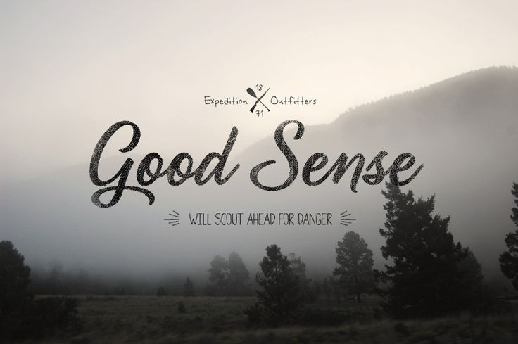 Good Sense Outfitters by Clint McManamanGraphic Design, Logo Design, Graphics Design Inspiration, Clint Mcmanaman, Hands Drawn Types, Vintage Photography, Photos Backgrounds, Types Design