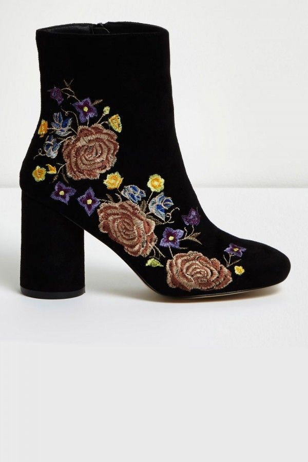 18 Pieces We Want From The High Street Now. Floral Ankle BootsHigh ...