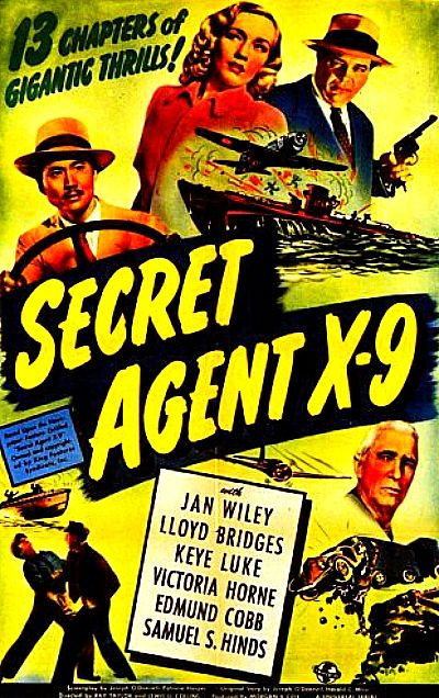 Télécharger Agent Secret X-9 1945 Regarder Agent Secret X-9 1945 en Streaming DVDRIP HDRIP Bluray HD 1080p Film Complet
