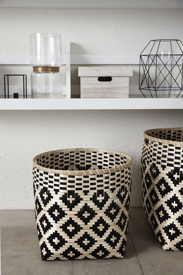 Earthy Baskets For Clean Towels To Maximize Storage Our Linen Closet Is Already Tiny So