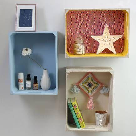 Wooden Crate 40 X 30 X 18 Cm | Hobbycraft
