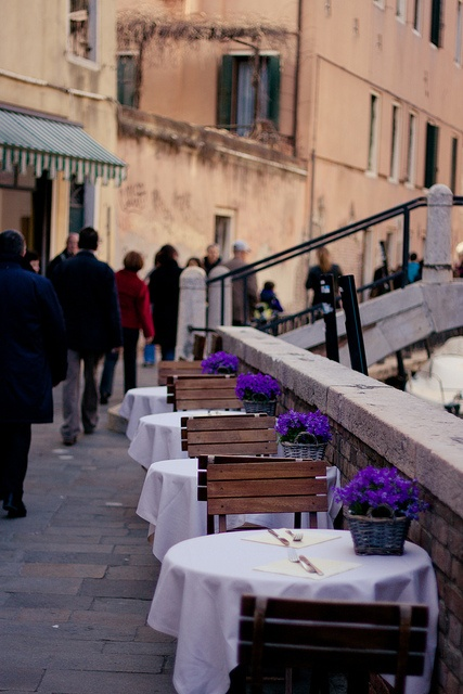 Outdoor trattoria at Venice by ★☆Gigi☆★, via Flickr