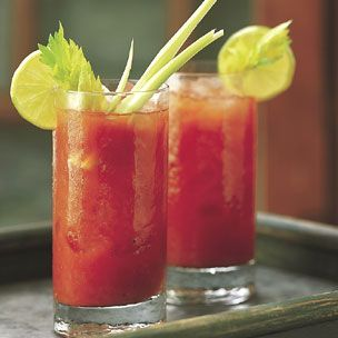 Spicy Bloody MarysSpicy Bloody, Juice Recipe, Most Popular, Bloody Mary, Sunday Brunches, Orange Juice, Cocktails Recipe, Drinks Recipe, Mixed Drinks