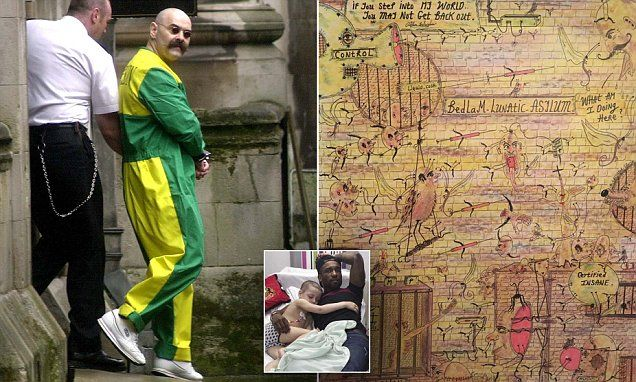 Charles Bronson paints picture to raise money for Bradley Lowery