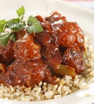 Baked Tomato Oxtail