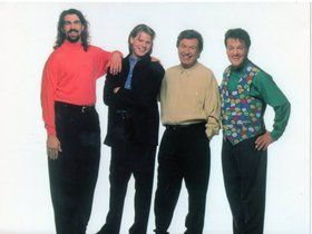 gaither vocal band 1993 | gaither vocal band photo: GVB: Guy Penrod Jonathan Pierce Bill Gaither ...