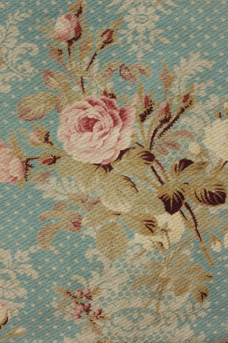 Stunning antique / Vintage french valance ~ beautiful rose printed cotton ~ ideal for Shabby chic and English country interiors ~ www.textiletrunk.com