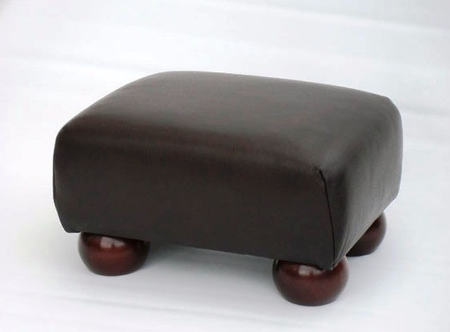 Small Leather Footstool Foot Stools Pinterest Foot