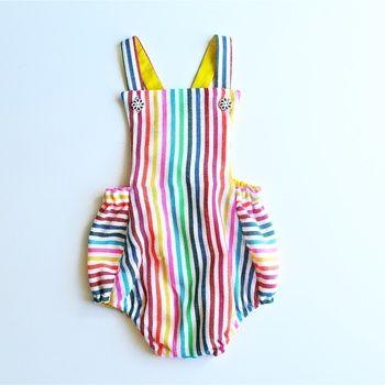 Baja Rainbow Stripes Jumper by Paush