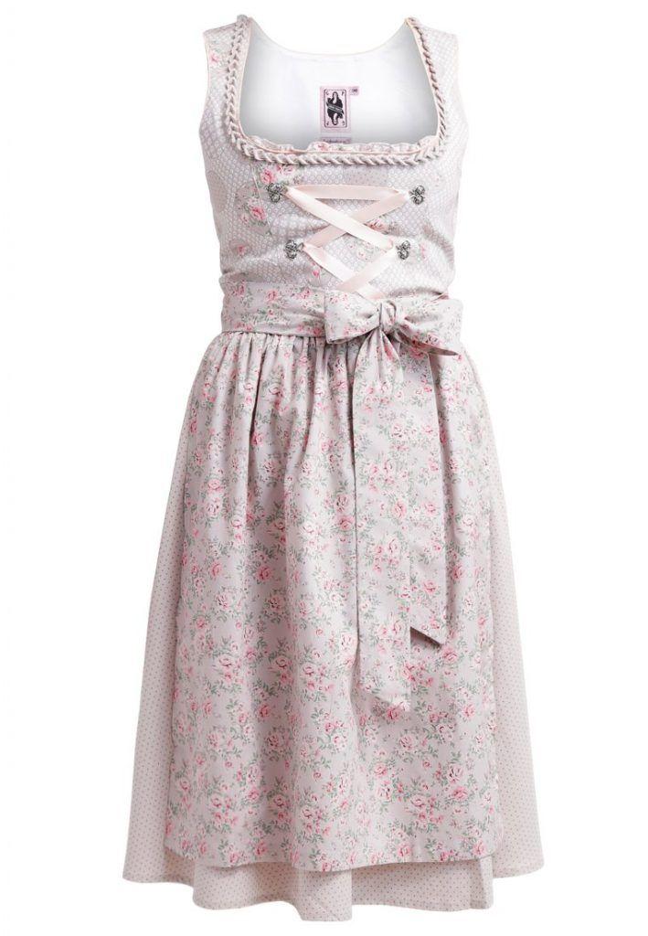 #German #Princess #Dirndl #beige #rosa für #Damen