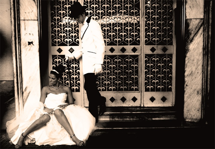 retro wedding in thesaloniki