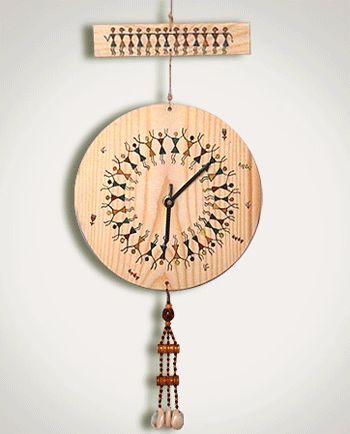 A #warli clock