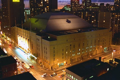 Maple Leaf Gardens - Toronto, Ontario - Former home of the Maple Leafs