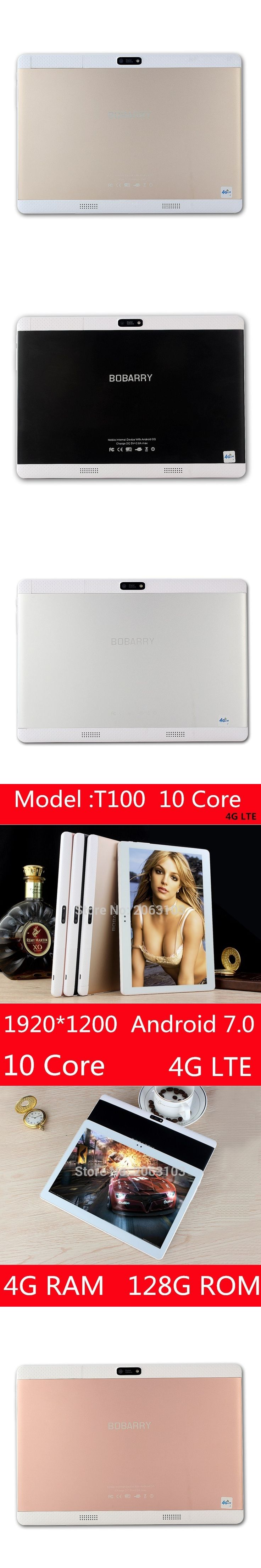 Free Shipping 2017 Newest MTK6797 Deca Core 3G 4G Phone Call 10 inch Tablet PC 4GB