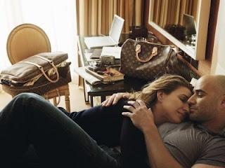 """S. Graf & A. Agassi """"¿Existe mejor viaje que el amor?"""" Louis Vuitton"""