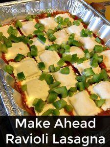 ... Ravioli Lasagna on Pinterest | Ravioli, Lasagna and Cheese Ravioli