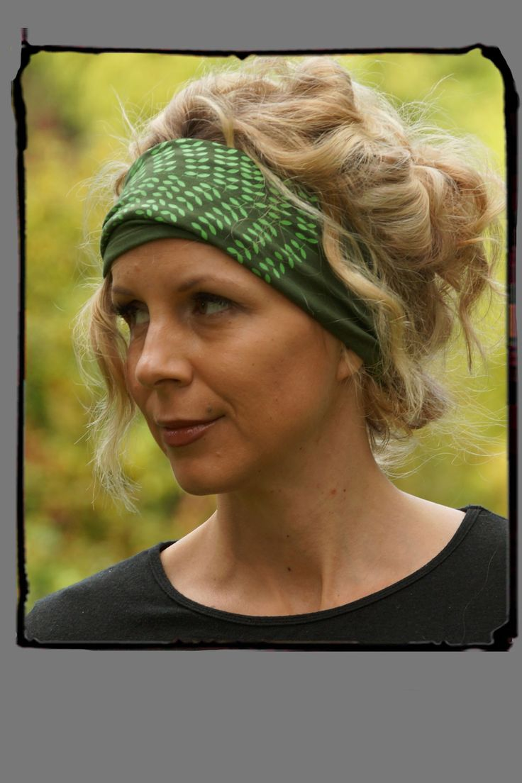 Fern Forest  Bamboo Hairband From Squeezed Yoga Clothing http://squeezed.ca/shop/fern-forest-hairband