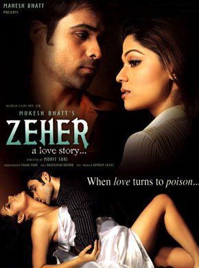 Zeher Hindi Movie Online - Shamita Shetty, Emraan Hashmi, Udita Goswami, Sameer Kochhar, Puneet Vasishtha, Ninad Kamat and Vishwajeet Pradhan. Directed by Mohit Suri. Music by Roop Kumar Rathod. 2005 [A] ENGLISH SUBTITLE