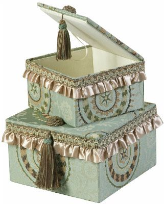 Crafts, Boxes, Tins, Baskets & Bags...Fortune Decorative Boxes