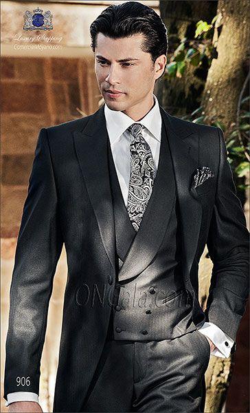 Traje de novio Chaqué negro 906 ONGala Morning suit
