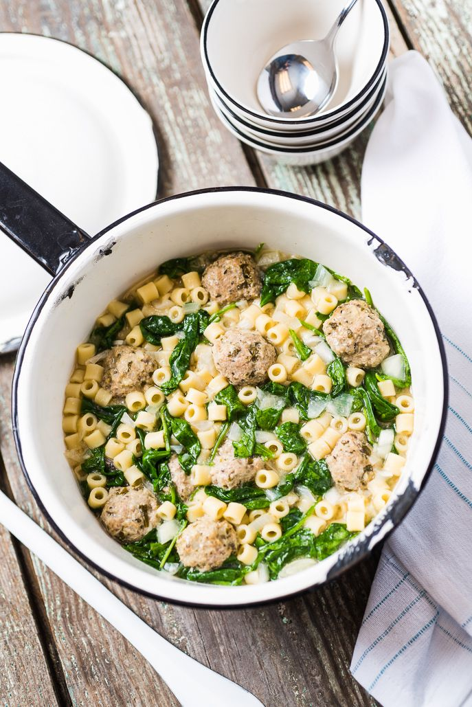 Slow Cooker Italian Wedding Soup from Everyday Good Thinking by @hamiltonbeach