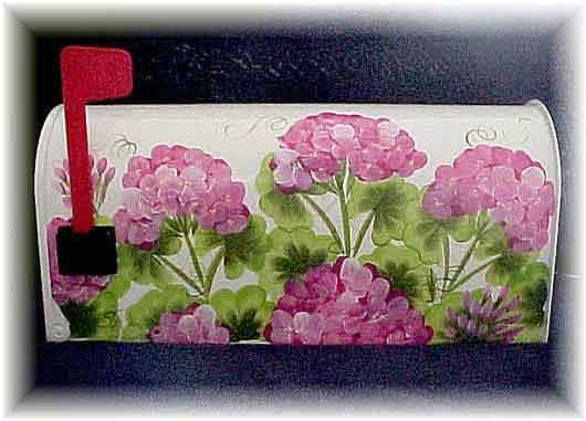 roses painted on a mailbox - Yahoo Image Search Results