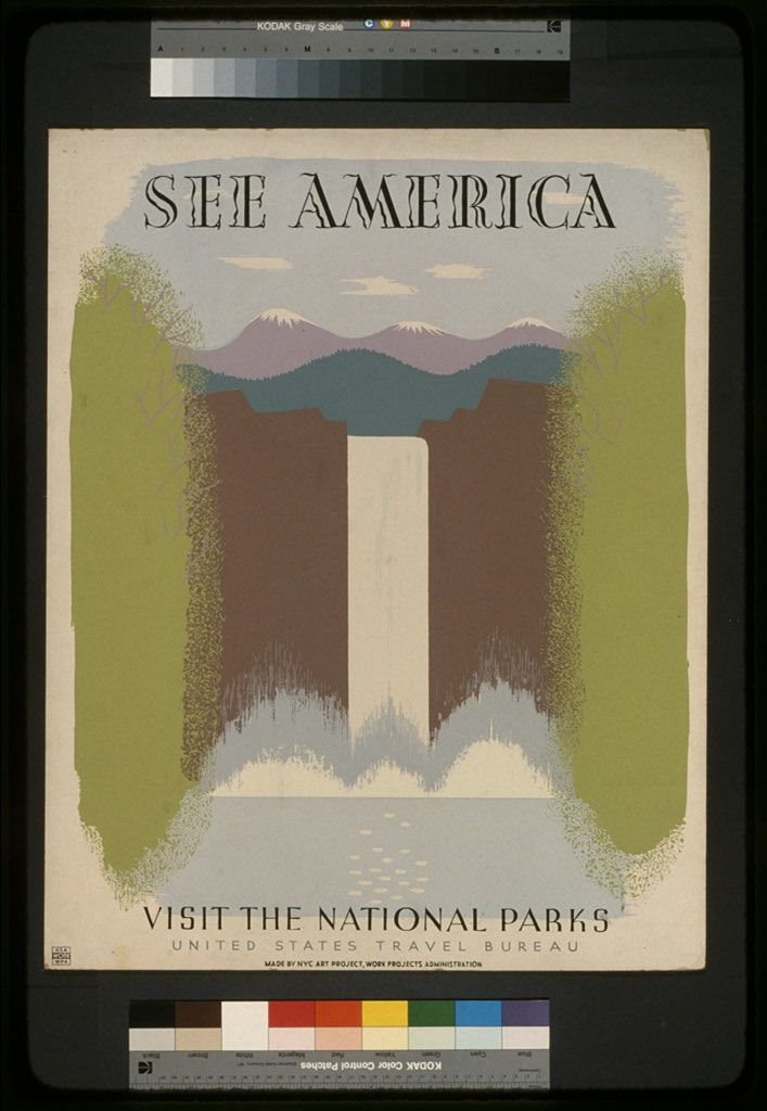 11 Beautiful National Parks Posters From The 1930s – The Roosevelts