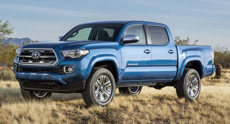 Toyota Shares HD Pics, Video of 2016 Tacoma Pickup Truck