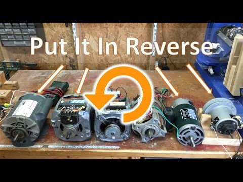 017. How To Reverse the Direction Of Universal and Induction Motors - YouTube