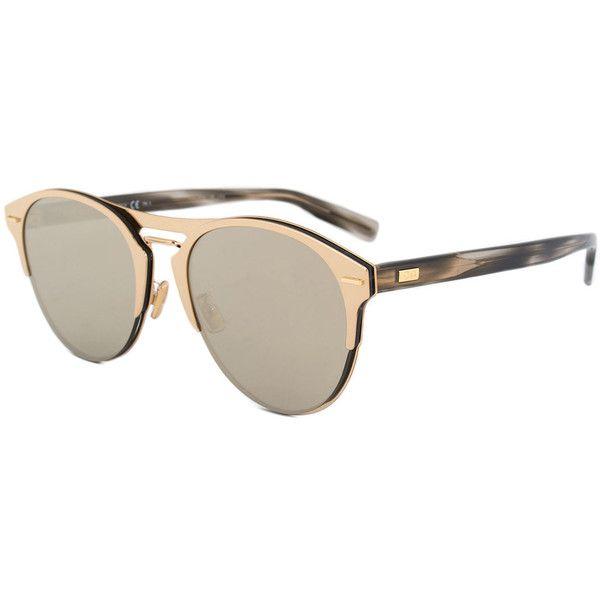 cd4619b226b0 Christian Dior Chrono Sunglasses 06JQV 67 ( 399) ❤ liked on Polyvore  featuring men s fashion